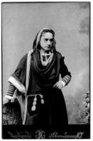 Cabinet Photo of Edwin Booth as Hamlet